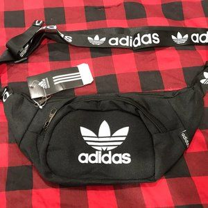 Adidas Trefoil Waist Pack Black NWT